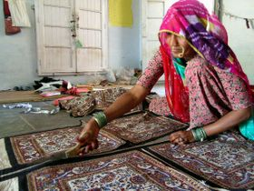 Bagru, Rajasthan, photo: Photographers of Tilonia, Flickr, CC BY-NC-ND 2.0
