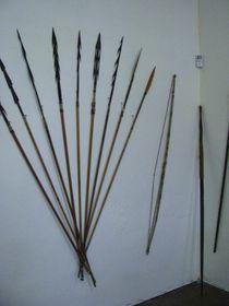 Lanzas y flechas en el Museo