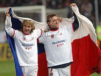 Pavel Nedved and Vladimir Smicer, photo: CTK