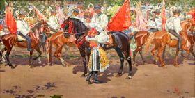 Joža Úprka, 'La Chevauchée des Rois'