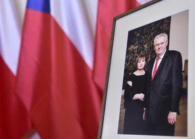 Милош Земан и его супруга Ивана, фото: ЧТК