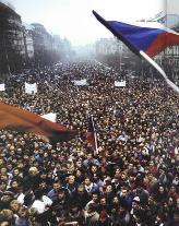 Revolución de Terciopelo, 1989