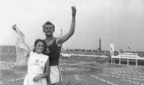 Спартакиада 1955, фото: Gender Sociologie
