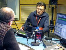 Кирилл Щелков и Рустем Адагамов в студии Радио Прага (Фото: Кристина Макова, Чешское радио - Радио Прага)
