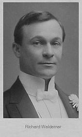 Richard Waldemar (Foto: Ludwig Gutmann, Public Domain)