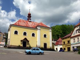 Wallfahrtskirche der Sieben Freuden der Jungfrau Maria (Foto: Michal Louč, Wikimedia Commons, CC BY 3.0)