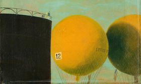 Kamil Lhoták, 'Gordon Benet', 1910, 1940, foto: Retro Gallery / Obecní dům
