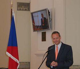 Ministro de RR. EE. checo, Cyril Svoboda