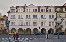 The building on Loreto Square