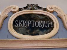 Skriptorium Broumovského kláštera, foto:  Kateřina Ostradecká / Klášter Broumov