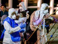 Огромное количество мигрантов из неспокойных африканских стран гибнет в Средиземном море (Фото: ЧТК)