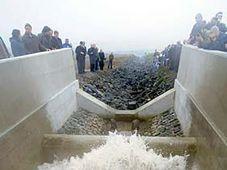 В 2008 г. началось заполнение водой озера Мост (Фото: ЧТК)