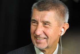 Andrej Babiš, photo: Martin Svozílek / Czech Radio
