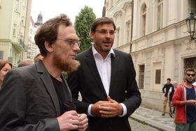 Петр Папоушек (справа), фото: Jana Šustová