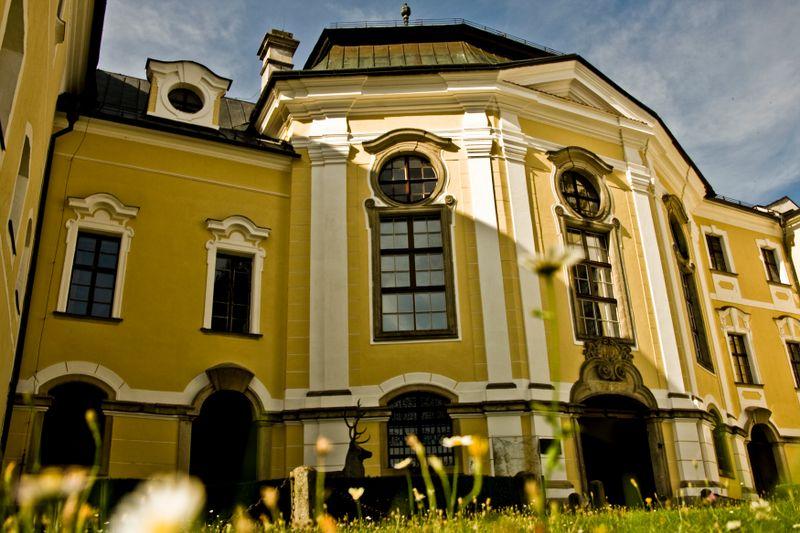 Château de Žďár nad Sázavou, photo: Vít Pohanka, ČRo