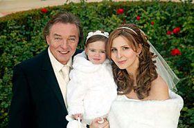 Карел Готт, супруга Ивана и дочка Элла-Шарлотта (Фото: ЧТК)