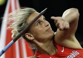 Barbora Špotáková, photo: ČTK