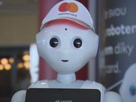 Pepper the robot, photo: ČT24