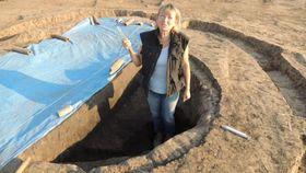 Археолог Мартина Бекова, Фото: Архив Мартины Бековой