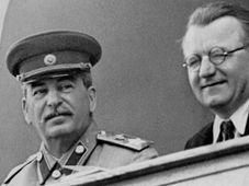 Stalin a Gottwald, foto: ČT24