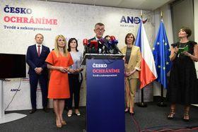 Partei Ano (Foto: ČTK / Roman Vondrouš)