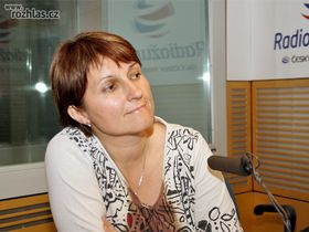 Michaela Šojdrová (Foto: Šárka Ševčíková, Archiv des Tschechischen Rundfunks)