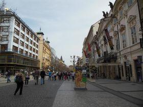 Straße Na Příkopě / Am Graben (Foto: PatrikPaprika, Wikimedia Commons, CC BY-SA 3.0)