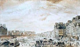 Paris, siglo XVII, foto: free domain