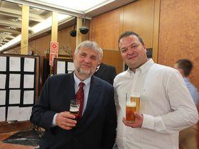 Tomáš Tomšej (a la derecha), foto: Zdeňka Kuchyňová