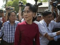 Aung San Suu Kyi, photo: ČTK