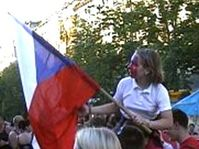 Celebrations rang throughout Prague for the World Hockey Championships