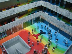 Biblioteca Técnica Nacional, foto: autora