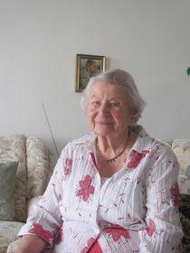 Olga Sippl (Foto: Archiv Paměť národa)