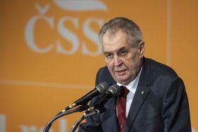 Miloš Zeman (Foto: ČTK / David Taneček)