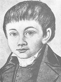 John Nepomucene Neumann in the age of ten