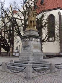 Monumento a Zizka, foto: Miloš Turek