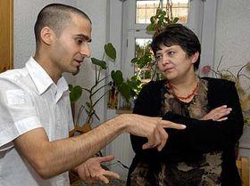 Radoslav 'Gipsy' Banga and Dzamila Stehlikova, photo: CTK