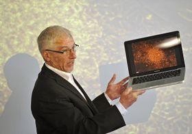 Petr Dvořák, jefe del Instituto Biológico de la Universidad Masaryk de Brno. Foto: ČTK