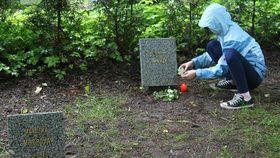 Kinderfriedhof in Prag-Ďáblice (Foto: ČT24)