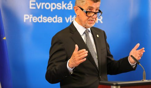 Andrej Babiš, photo: ČTK/AP/Olivier Matthys