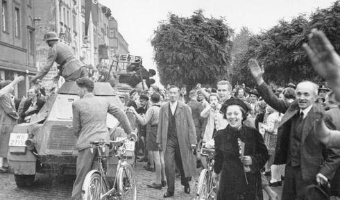 Obsazení Sudet v roce 1938, foto: Bundesarchiv, Bild 146-1976-033-20 / CC-BY-SA 3.0