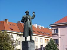 Statue commemorating marshal Ivan Konev in Prague's Bubeneč, photo: Šjů, CC BY-SA 3.0
