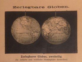 """Quelle: Ausstellungskatalog """"Jan Felkl & syn. Továrna na glóby/Jan Felkl & son, a Globe-Making Factory"""""""