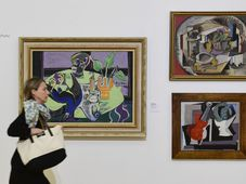 Paintings by Emil Filla, photo: ČTK/Roman Vondrouš