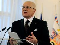 Presidente Václav Klaus (Foto: CTK)