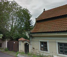Haus mit der Werkstatt Manoušeks (Foto: Google Street View)