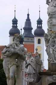 Костел святого Якуба в городе Телч