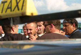 Taxistas, Foto: CTK