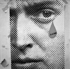 Фотография Владимира Ламмера, август 1968 г., фото: выставка Sovětská invaze - srpen 1968