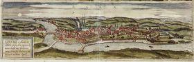 Ciudad de Cheb en el siglo XVI